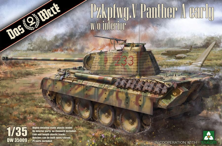 DAS WERK  35009 Pzkpfwg. V Panther A early