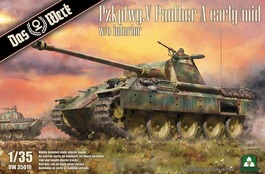 DAS WERK  35010 Pzkpfwg. V Panther A early/mid