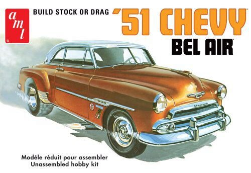 amt 591862 1/25 1951er Chevy Bel Air