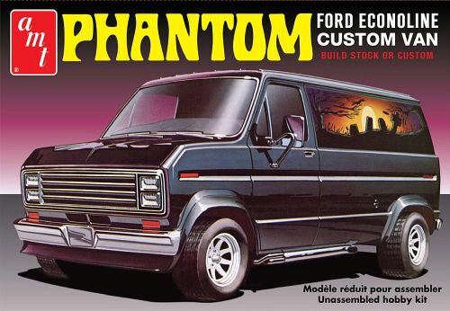 amt 590767 1/25 1976er Ford Custom Van,