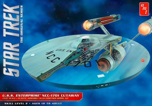 amt 590891 1/537 Star Trek TOS Enterpris