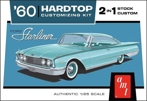 amt 591055 1/25 1960 Ford Starliner
