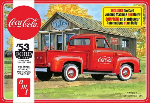 amt 591144 1/25 1953 Ford Pickup Coca-Co