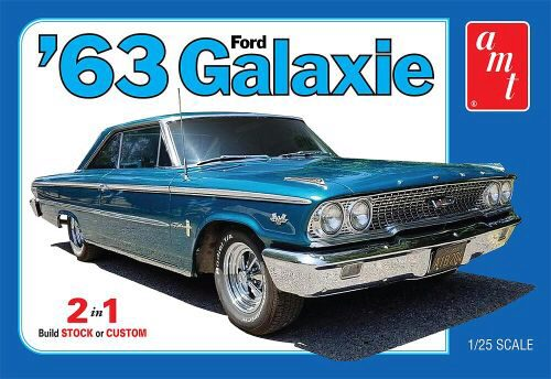 amt 591186 1/25 1963 Ford Galaxie