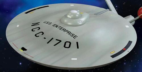 amt 592015 1/350 Star Trek TOS USS Enter