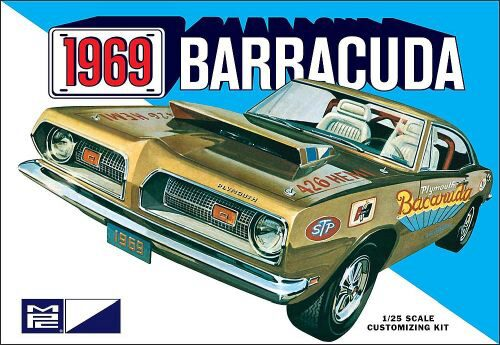 amt 592832 1/25 1969er Plymouth Barracud