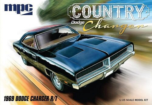 amt 592878 1/25 1969er Dodge Country Cha