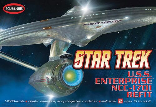 amt 593820 1/1000 Star Trek USS Enterpri