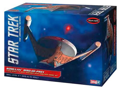 amt 593934 1/1000 Star Trek Romulan Bird