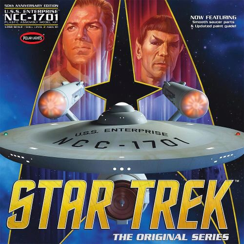 amt 593938 1/350 Star Trek TOS Enterpris
