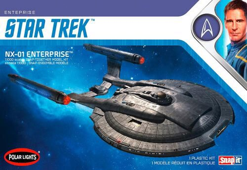 amt 593966 1/1000 Star Trek NX-01 Enterp
