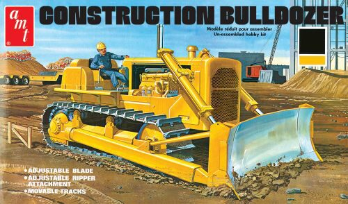 amt 591086 1/25 Construction Bulldozer
