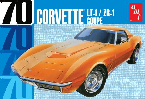 amt 591097 1/25 1970er Chevy Corvette Co