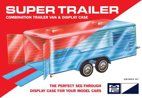 amt 590909 1/25 Super Display Case Trail