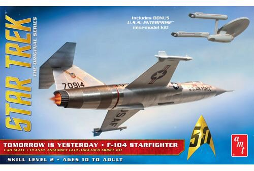 amt 590953 1/48 Star Trek F-104 Starfigh