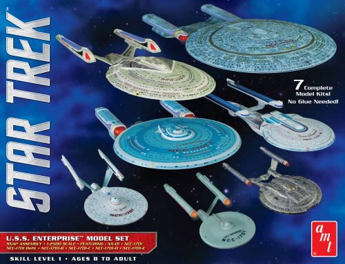 amt 590954 1/2500 Star Trek USS Enterpri