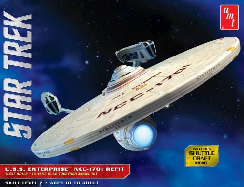 amt 591080 1/537 Star Trek USS Enterpris