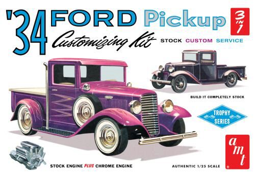 amt 591120 1/25 1934er Ford Pickup