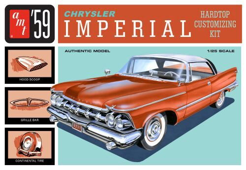 amt 591136 1/25 1959er Chrysler Imperial