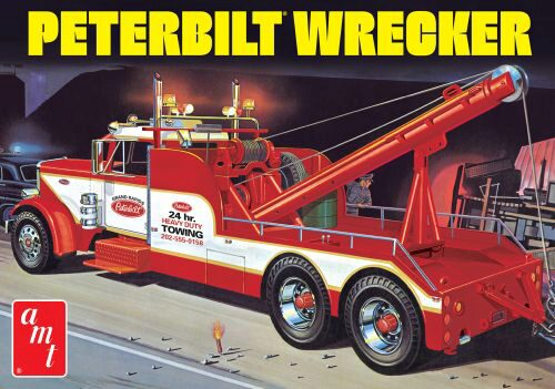 amt 591133 1/25 Peterbilt 359 Wrecker