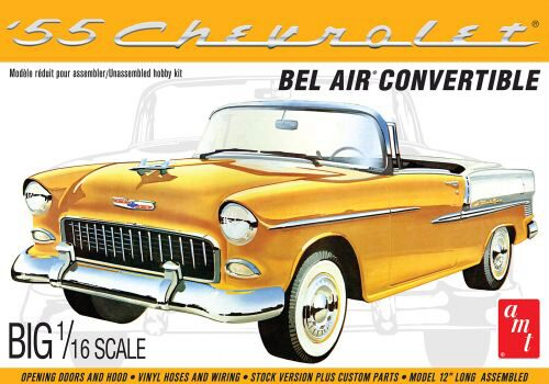 amt 591134 1/16 1955er Chevy Bel Air Con