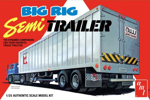 amt 591164 1/25 Big Rig Semi Trailer