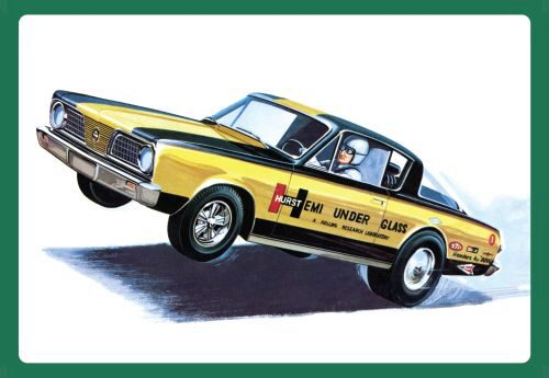 amt 591153 1/25 1966er Plymouth Barracud