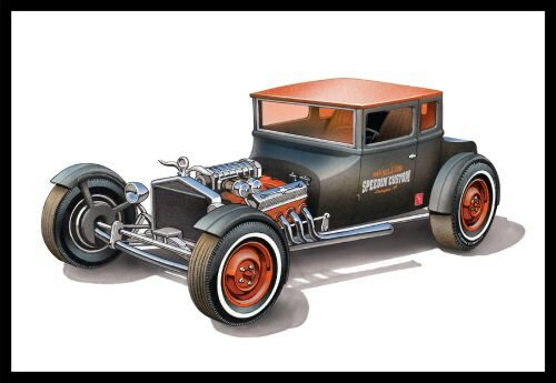 amt 591167 1/25 1925er Ford T Chopped