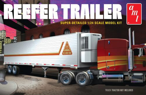 amt 591170 1/25 Reefer Semi Trailer