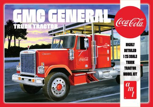 amt 591179 1/25 1976er GMC General Semi