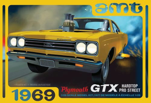 amt 591180 1/25 1969er Plymouth GTX Hard