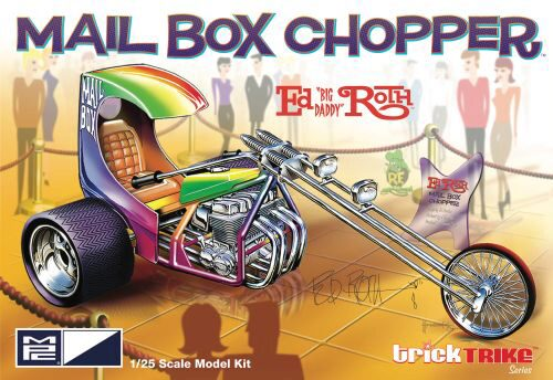 amt 593892 1/25 Ed Roths Mail Box Clippe