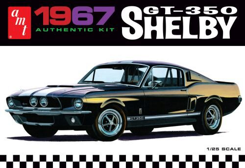 amt 800 1967 Shelby GT350 White