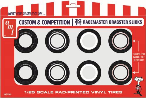 amt PP001 M&H Drag Slick Tire Pack (8 tires, 4 styles)