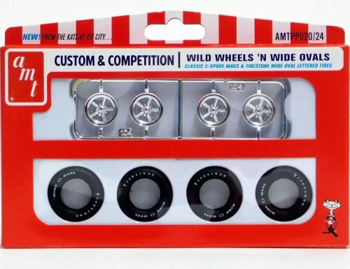 amt PP020 Wild Wheels & Wide Ovals Parts Pack