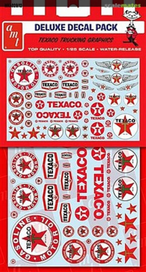 amt MKA029 Texaco/Standard/Chevron Trucking Decals