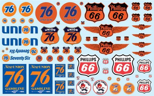 amt MKA032 Phillips 66 & Union 76 Trucking Decal Pack
