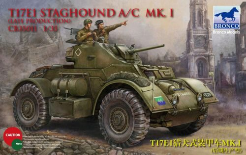 Bronco Models CB35011 T17E1 Staghound Mk.I Late Production