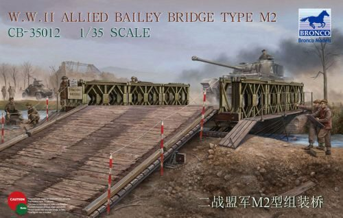 Bronco Models CB35012 WWII Allied Bailey Bridge Type M2