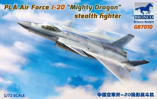Bronco Models GB7010 PLA Air Force J-20 Mighty Dragon stealth fighter