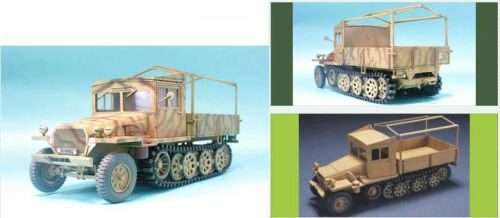 AFV-Club 35047 Sdkfz11 late version with wood cab
