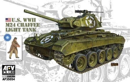 AFV-Club AF35054 WWII M24 Chaffee Light Tank