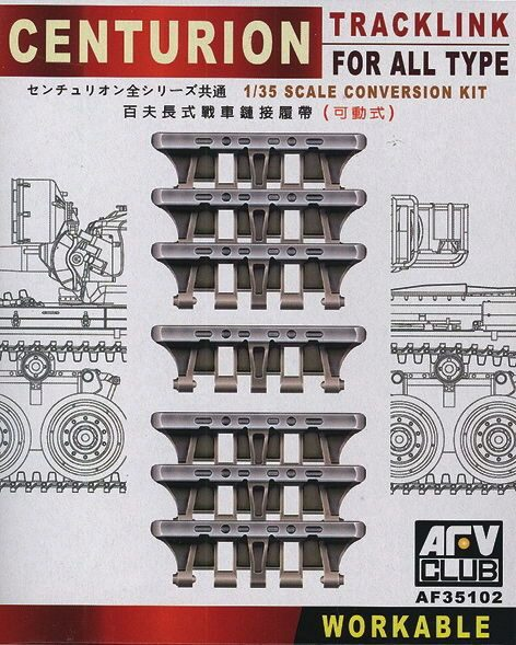 AFV-Club 35102 Centurion Tracklink for all Type Conversion Kit