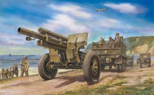 AFV-Club 35160 105mm HOWITZER M2A1 Carriage M2