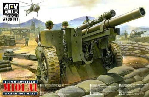 AFV-Club 35191 105mm Howitzer M101 A1 Carriage M2 A2