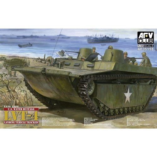 AFV-Club AF35198 LVT-4 U.S. Water Buffalo, landing Vehicle Tracked,Late Type