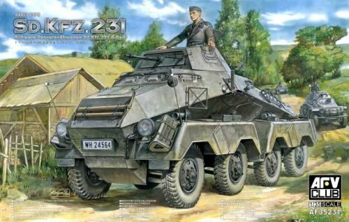 AFV-Club 35231 Sd. Kfz. 231 early type