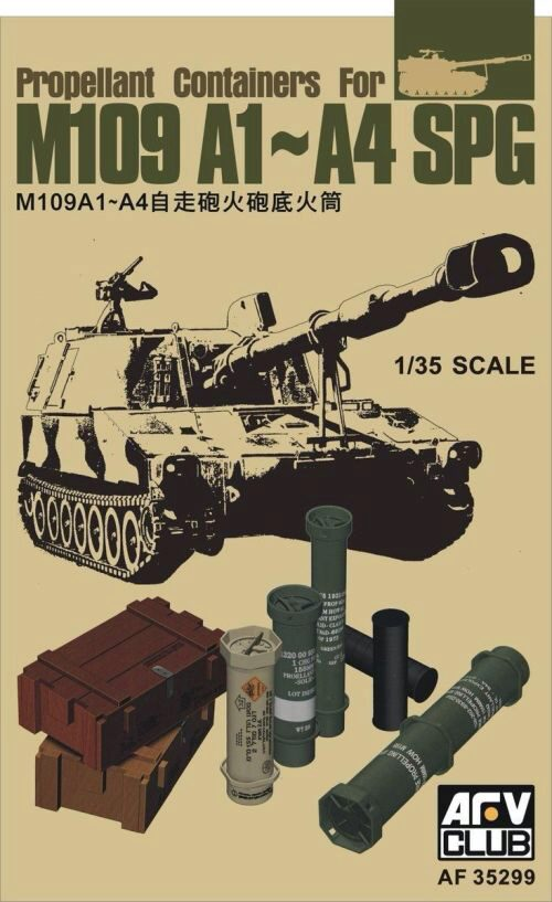 AFV-Club AF35299 Propellant Containers for M109 A1-A4 SPG