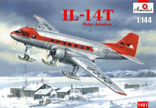 Amodel AMO1481 Ilyushin IL-14T Polar aviation