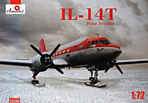 Amodel AMO72258 Ilyushin IL-14T polar aviation